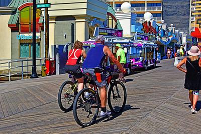 On the Boardwalk - Atlantic City NJ
