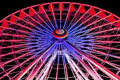 Ferris Wheel Light Show 6_Patriotic Colors
