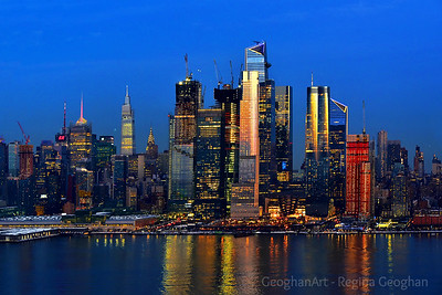 NYC -Blue Hour  Lights and Reflections