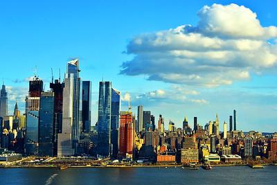 NYC Afternoon Clearing Skies