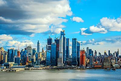 NYC Wintry Blue Skies