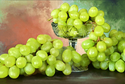 Green Grape Still LIfe