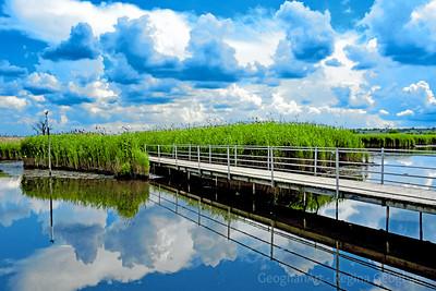 Heavenly Reflections N.J. Meadowlands Boardwalk