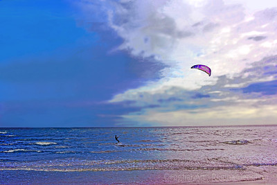 Surf, Sky and Kite Boarder Cape May NJ