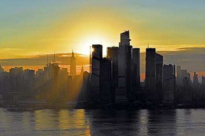 NYC Fog at Sunrise