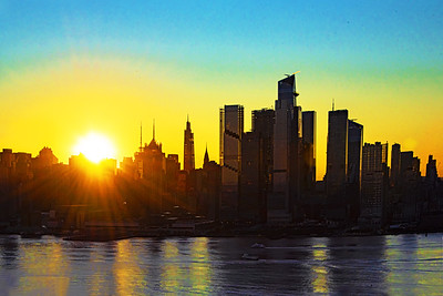 October's First Sunrise NYC
