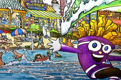Fun at the Beach Mural NJ