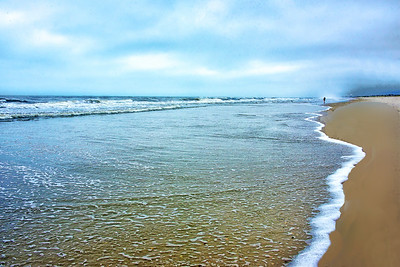 Morning Light and Empty Beach NJ Shore