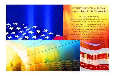 Empty Sky Composite - Remembering Sept 11