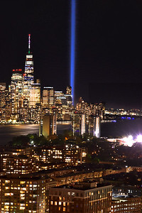 Memorial Lights 9/11 - 20th Anniversary