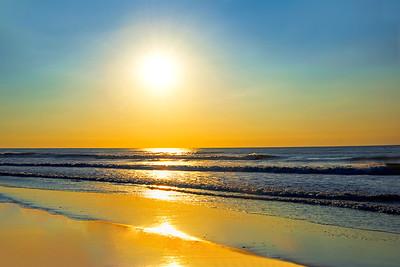 Atlantic Ocean Sunrise NJ Shore