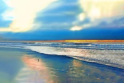 NJ Beach at Sunrise