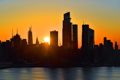 New YOrk City Saturday Sunrise