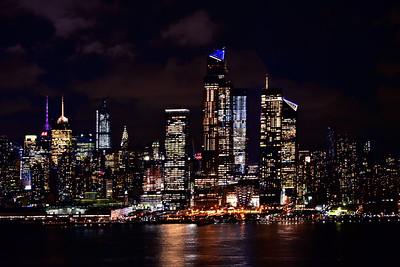 Manhattan Night LIghts