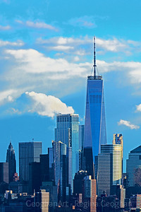 One World Trade in Sky BLues