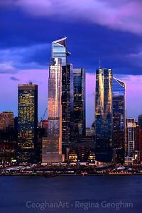 Hudson Yards NYC Sundown Blues