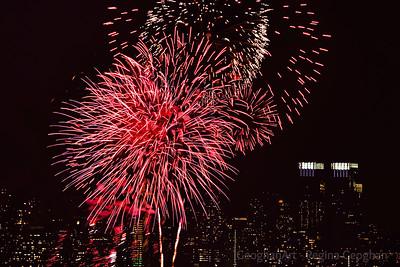 Junar New Year Fireworks NYC 4