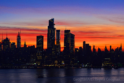 New York City Dawn Light