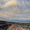 Lower Rock Creek Canyon Sundown
