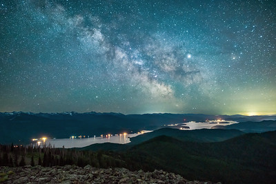 Priest Lake Milky Way