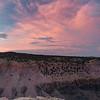 Lower Rock Creek Canyon Sunset