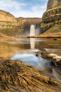 Palouse Falls Reflection (Vertical)