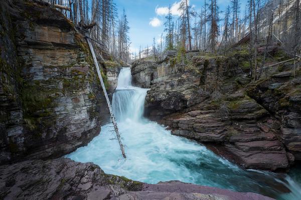 Cascading || St. Mary's Falls