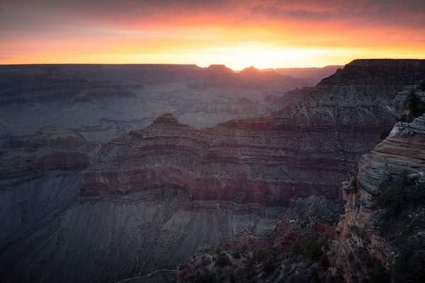 Ancient Dawn || Mather Point