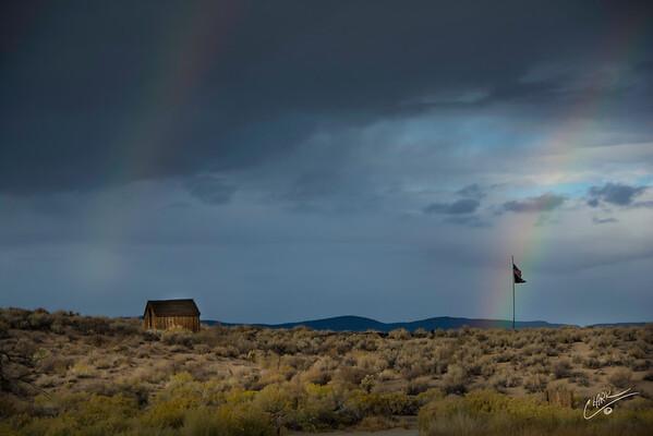 Rainbows and Flag
