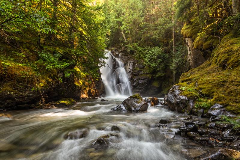 Flint Creek waterfall