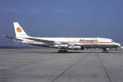 Affretair (2nd) Douglas DC-8F-55 VP-WMJ (msn 45821) LGW (Christian Volpati Collection). Image: 925874.