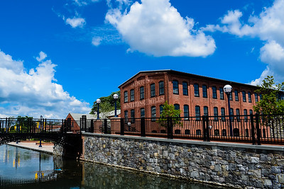 The restored Union Mills awaits a new generation of tenants in Frederick, Maryland