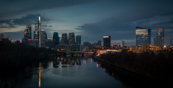 A dark and moody Saturday in Philly