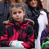 The Town of Billerica held a groundbreaking ceremony for the new Billerica Memorial High School on Monday afternoon. The new school is being built in the fields behind the old one.Second grader Melanie Mahoney, 8, listens to the speakers at the ceremony. SUN/JOHN LOVE