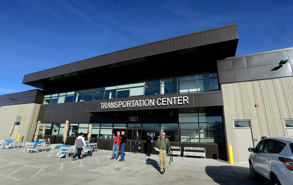 . BOULDER, CO - JANUARY 8, 2019 The BVSD Transportation Center Boulder Terminal on Tuesday afternoon January 8, 2019.  (Photo by Paul Aiken/Staff Photographer)