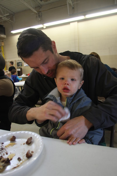 The New Baltimore Firefighter's Association hosted its annual pancake breakfast on Oct. 14, 2018. (Photos by Dave Angell)