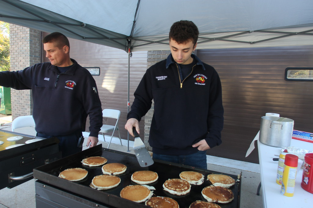 . The New Baltimore Firefighter�s Association hosted its annual pancake breakfast on Oct. 14, 2018. (Photos by Dave Angell)