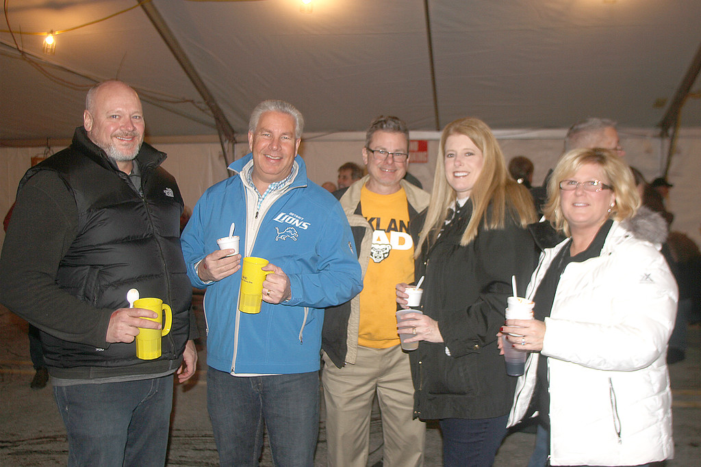. The New Baltimore Lions launched a new charity run at the 2019 Winterfest celebration downtown. The run and annual chili cook-off took place Jan. 26. (Photos by Dave Angell)