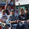 Bay-Rama Inc. invited local veterans to join them in the parade. (Photo by Dave Angell)