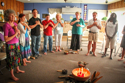 Full Moon Ceremony, Pool Party, Events New Beginnings Oneness Cener 8 10 2014
