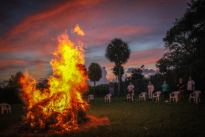 NBOC New Moon Bondfire Ceremony, 7 26 2014