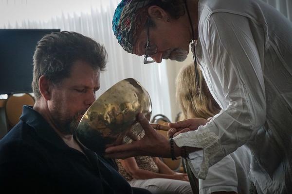 Tibetan Bowls Sound Healing, NBOC 10 16 2016