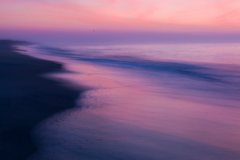 """Misty Tidal Dawn"" (photography archival pigment print on cotton rag) by Dave Hammaker"