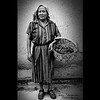 Zapotec Indian Woman With Basket