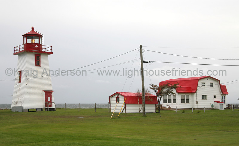 Caissie Point Lighthouse