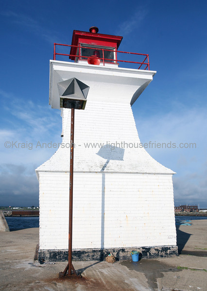 Cape Tormentine Outer Wharf Lighthouse
