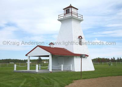 Caraquet Range Rear Lighthouse