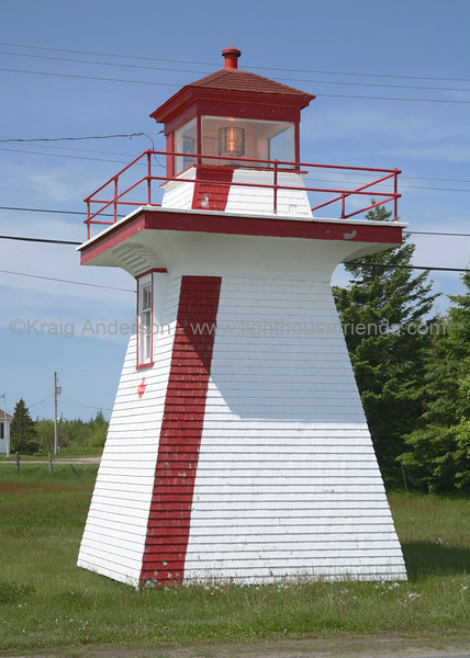 Pointe Sapin Range Rear Lighthouse