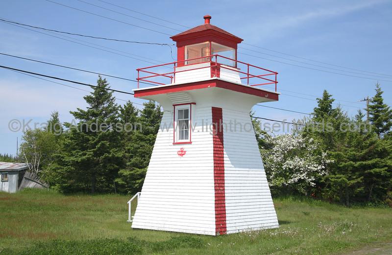 Pointe Sapin Range Rear Lighthouse
