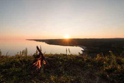 Sunset in St. Martins NB,